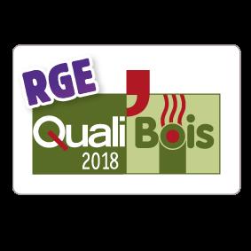 Logo QualiBois 2018 RGE